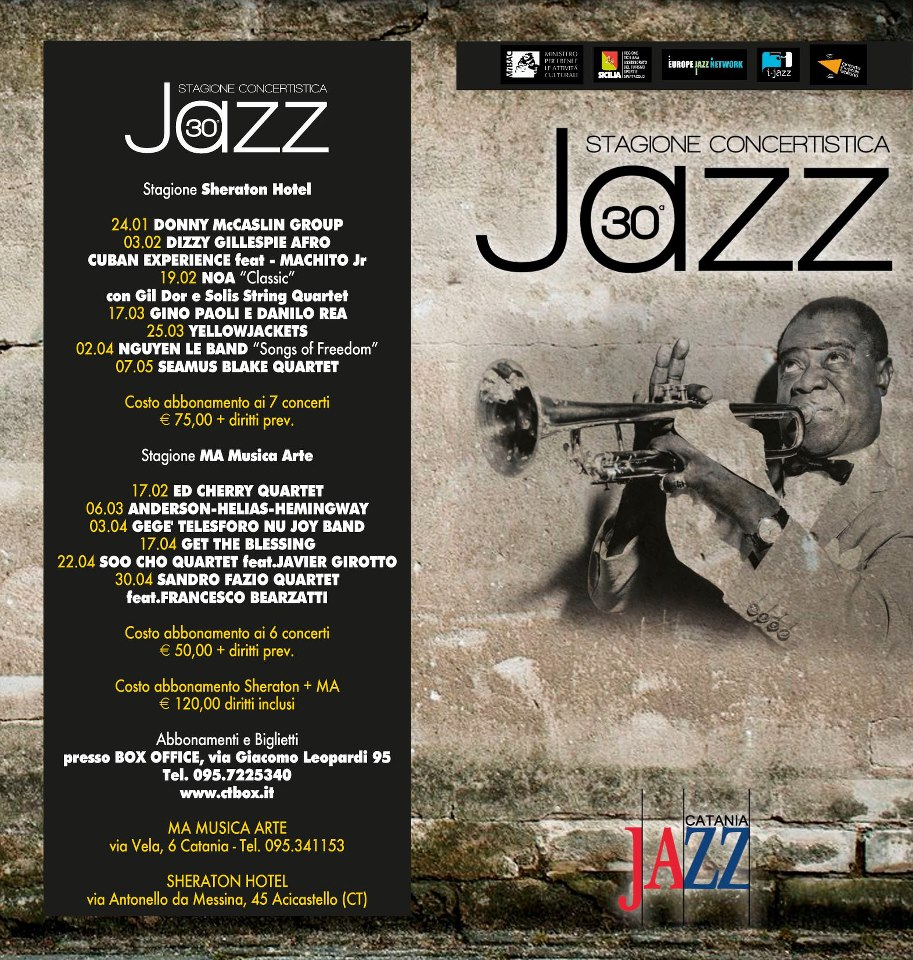 Cartellone Jazz