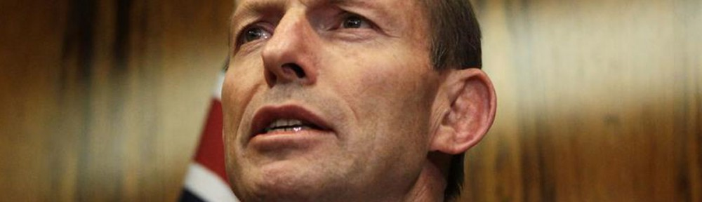 Australian opposition leader Abbott addresses a news conference in central Sydney