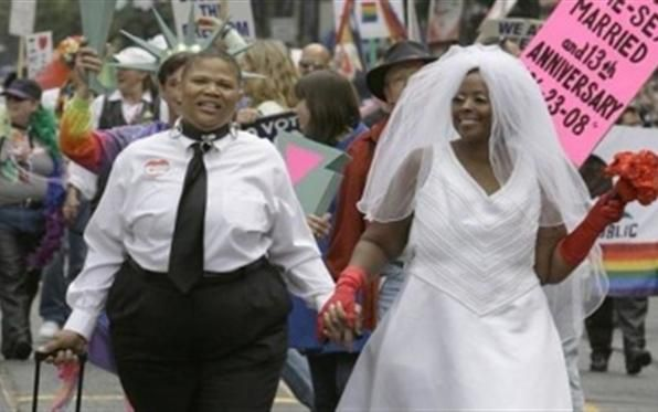 Blacks gay marriage