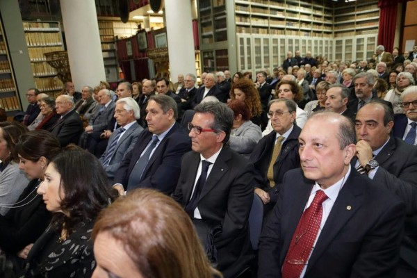 Pubblico in seconda fila relatori Scandura, Distefano, Favetta S. Cavallaro
