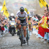 during the 100th edition of the Tour of Flanders from Bruges to Oudenaarde on April 3, 2016 in Bruges, Belgium.