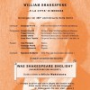 Locandina - WILLIAM SHAKESPEARE …E LA CITTA' DI MESSINA