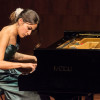 2014. Utrecht. Liszt piano competition. Saskia Giorgini. Photo: Allard Willemse