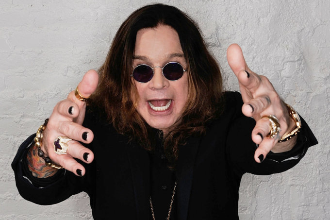 NEW YORK, NY - APRIL 25: Ozzy Osbourne visits the Tribeca Film Festival 2011 portrait studio on April 25, 2011 in New York City. (Photo by Larry Busacca/Getty Images for Tribeca Film Festival) *** Local Caption *** Ozzy Osbourne;
