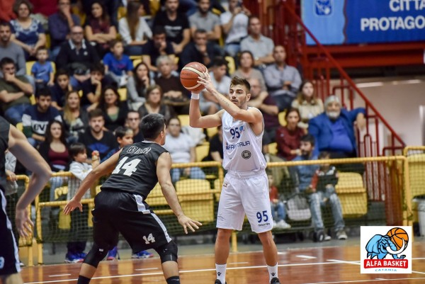 BASKET: ALFA BASKET CATANIA SUPERATA DALLA HSC ROMA