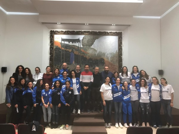 Volley: Zafferana presenta la squadra