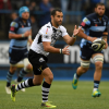 Brummer in azione all'Arms Park di Cardiff