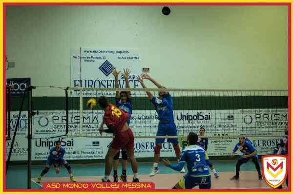 Volley uomini, Mondo Messina straripante