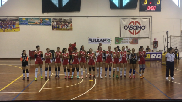 Volley donne, Planet Pedara asfalta il Battipaglia