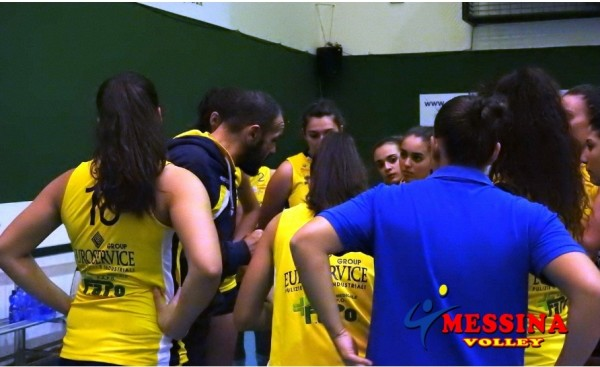 Volley donne, Messina trafitto dalla Kondor Catania