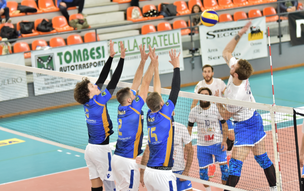 Volley uomini, E. M. Catania perde al tie-break