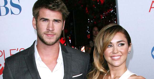 Archive photos of Miley Cyrus and Liam Hemsworth at events in Los Angeles, CA. Pictured: Miley Cyrus and Liam Hemsworth Ref: SPL1047881  080615   Picture by: Photo Image Press / Splash News Splash News and Pictures Los Angeles:310-821-2666 New York:212-619-2666 London:870-934-2666 photodesk@splashnews.com