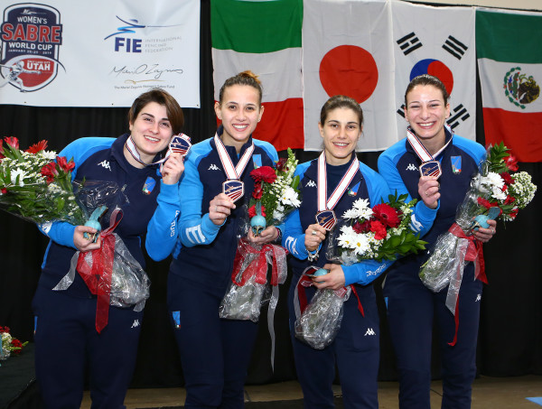 Salt Lake City, USA - Women's Sabre World Cup Team Competition, January 27th 2019