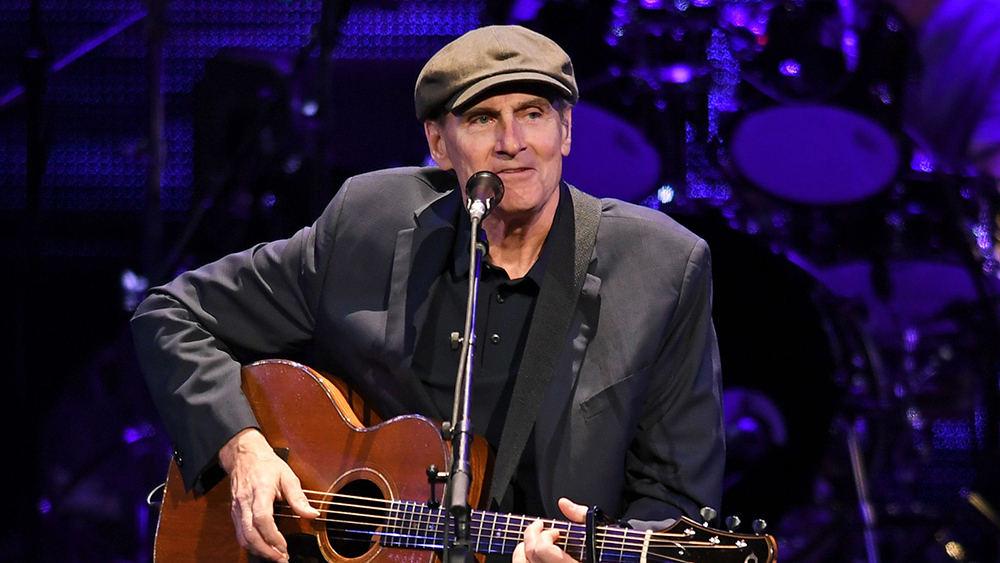 Mandatory Credit: Photo by Larry Marano/REX/Shutterstock (9669524e) James Taylor James Taylor in concert at BB&T Center, Sunrise, USA - - 11 May 2018