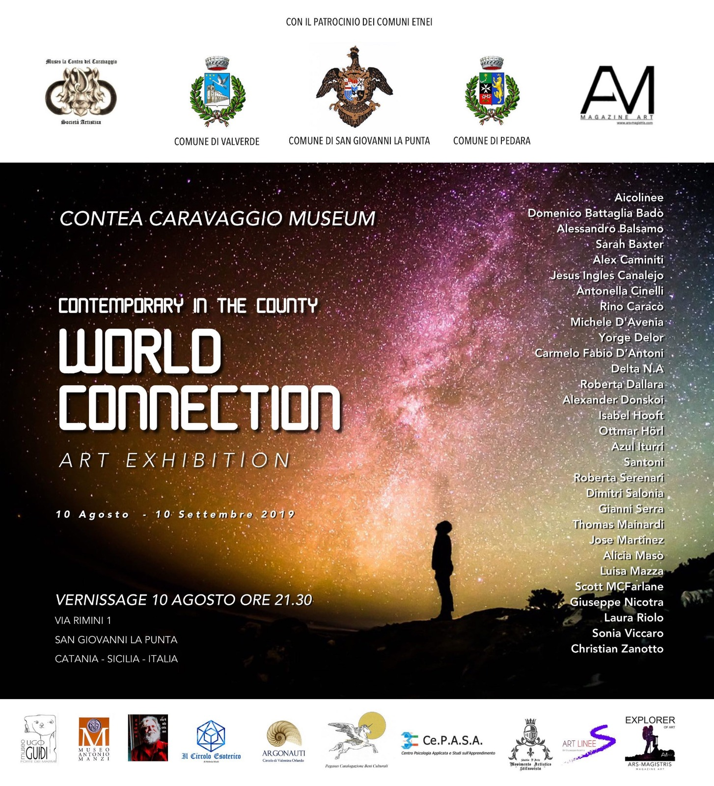 S.G.La Punta. Mostra Contemporary in The County – World Connection 2019