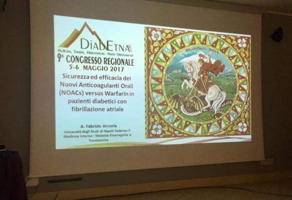 A Viagrande il 9° congresso regionale sul diabete. Programma e logo del congresso