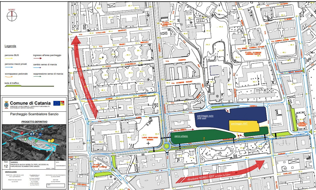 Mobilità, finanziato il parcheggio scambiatore Sanzio con zona a verde e nuovo sistema viario