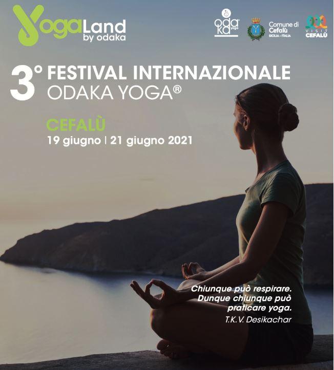 A Cefalù dal 19 al 21 giugno il festival internazionale Yogaland