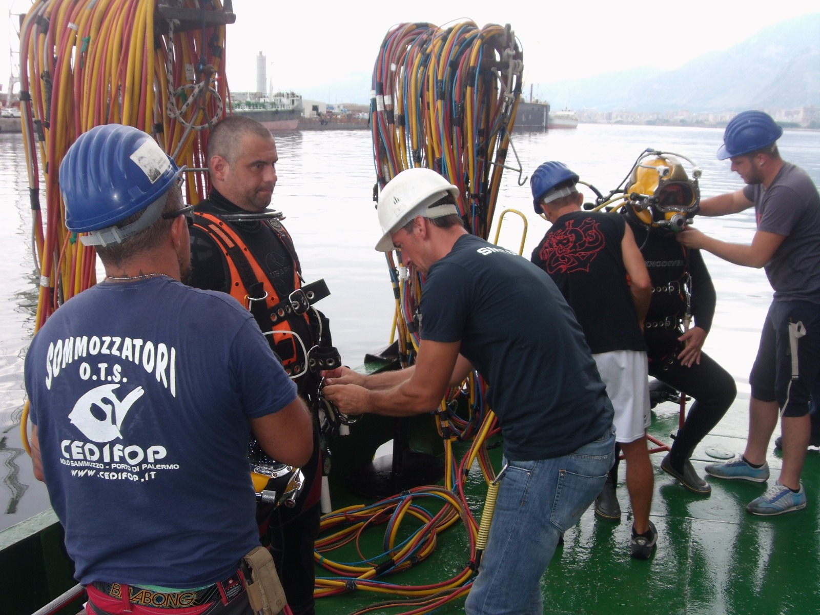 Cedifop: grande esperienza per il Commercial Diver di basso o alto fondale